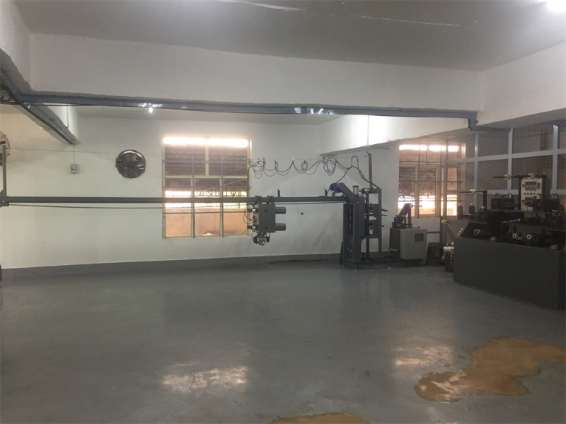 Four wire drawing machine
